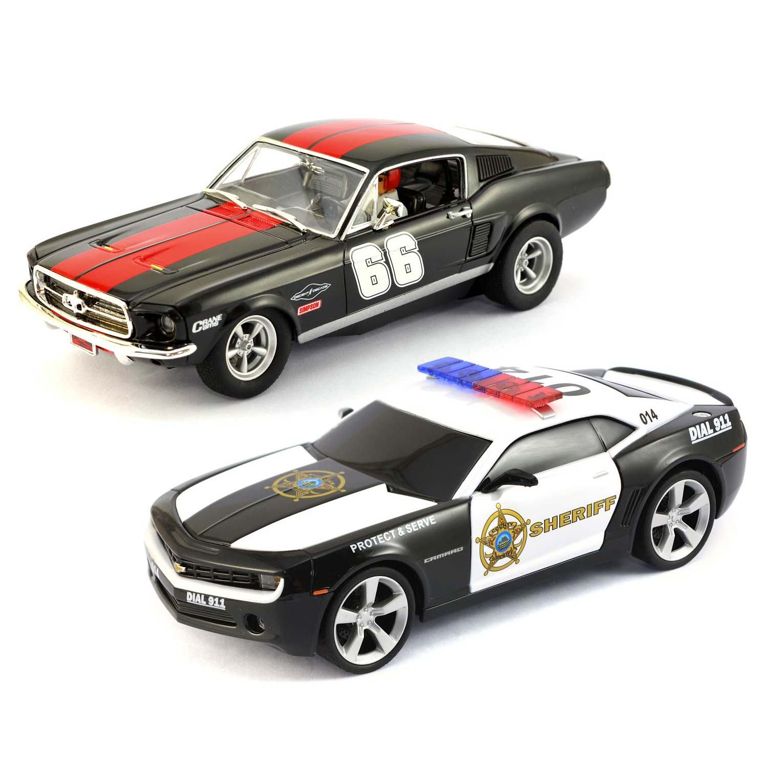 carrera ford mustang gt chevrolet camaro 27553. Black Bedroom Furniture Sets. Home Design Ideas