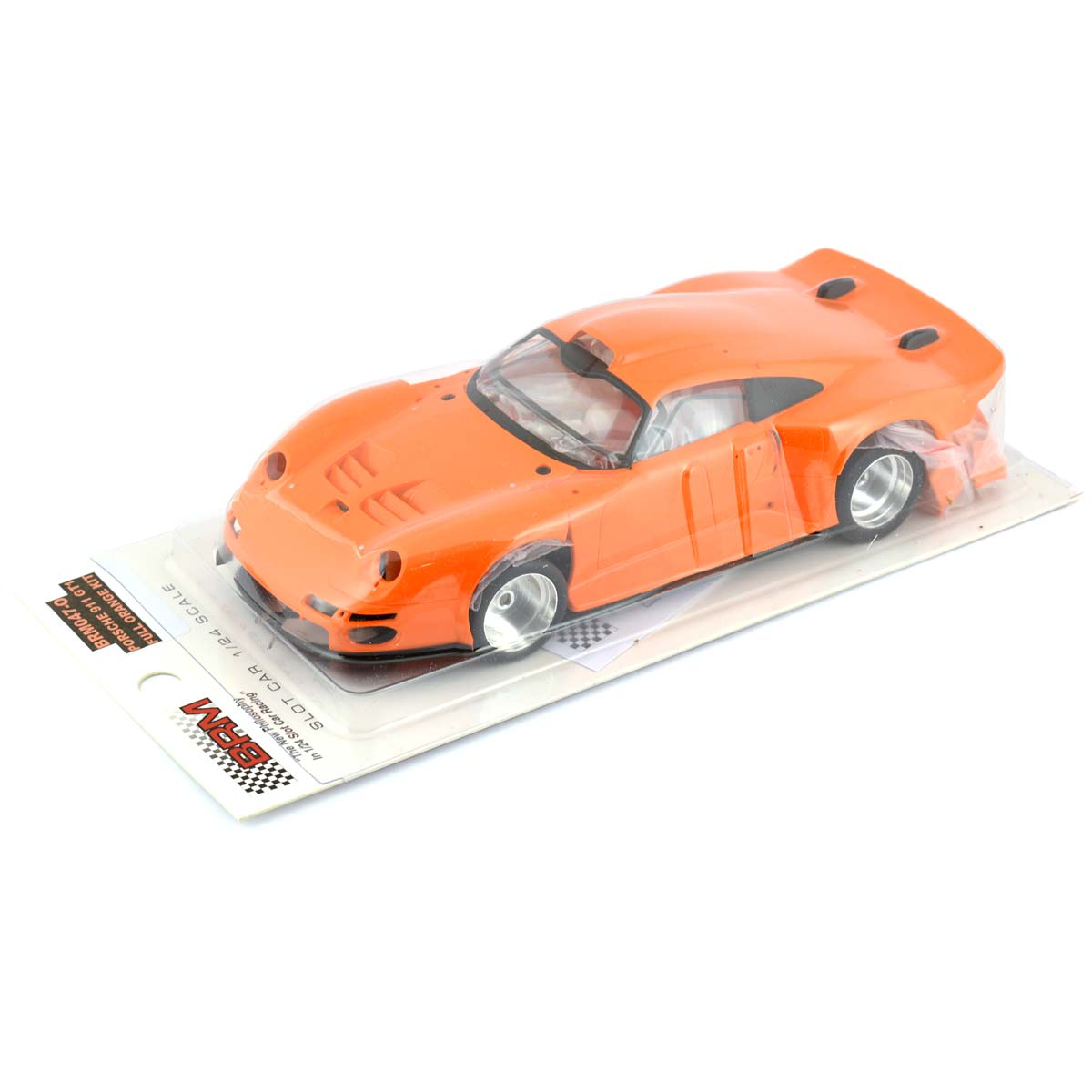 brm porsche 911 gt1 kit orange 1 24th scale brm 047o. Black Bedroom Furniture Sets. Home Design Ideas