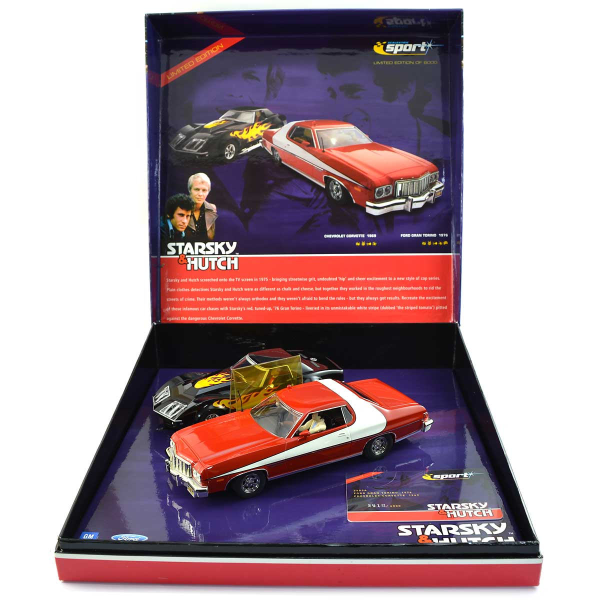 Starsky And Hutch Car: Scalextric Starsky & Hutch Limited Edition (C2603A