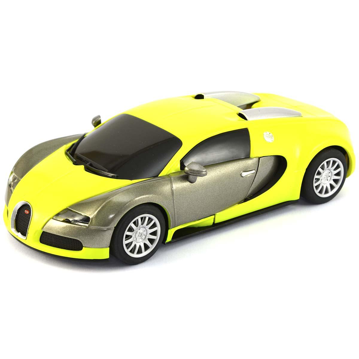 superslot bugatti veyron fluorescent yellow h3275. Black Bedroom Furniture Sets. Home Design Ideas