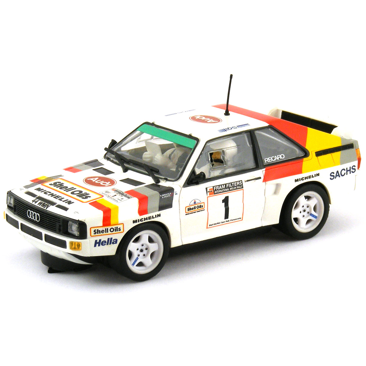 Scalextric Audi Quattro No.1 International Welsh Rally