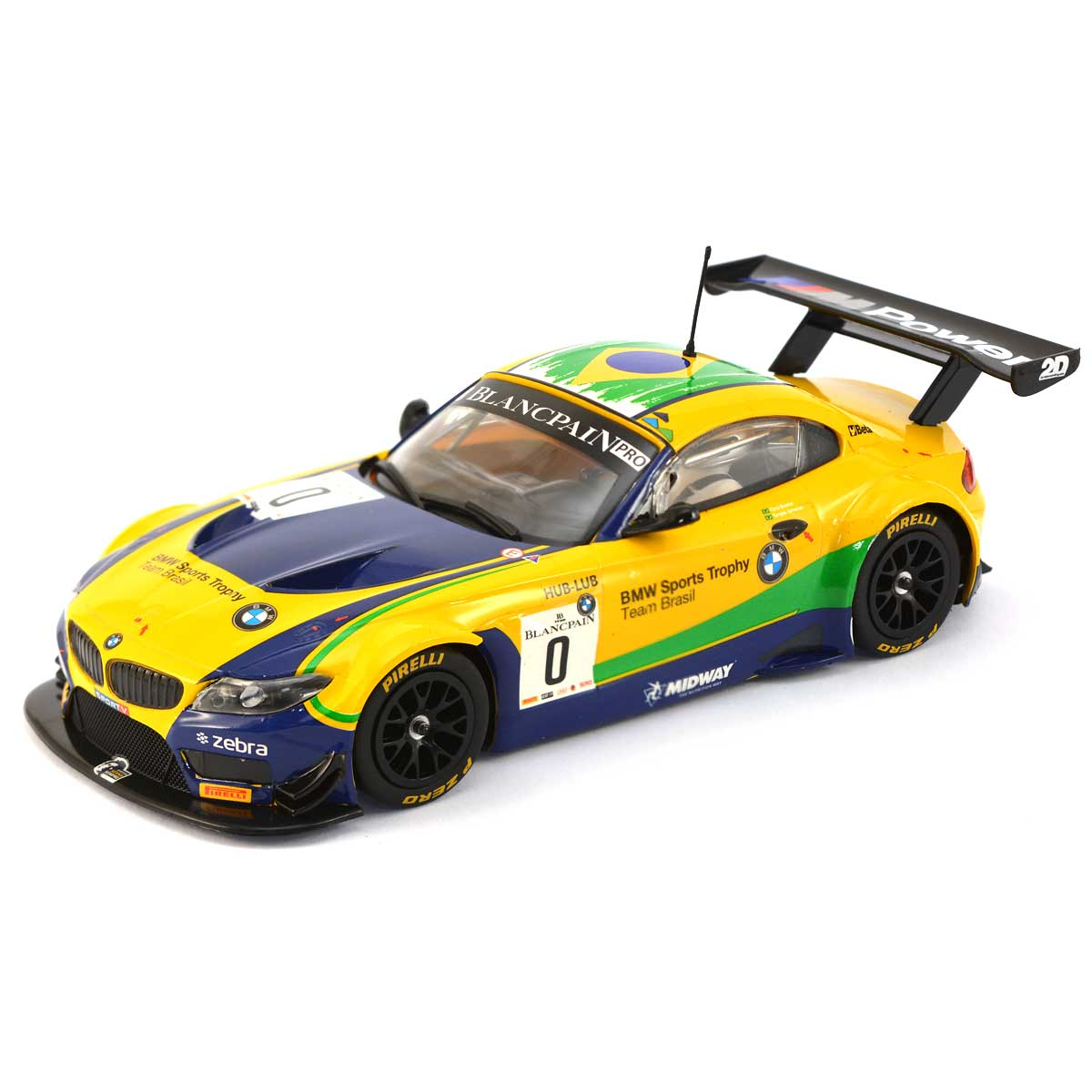 2015 Bmw Z4: Scalextric BMW Z4 GT3 Blancpan Series Brands Hatch 2015