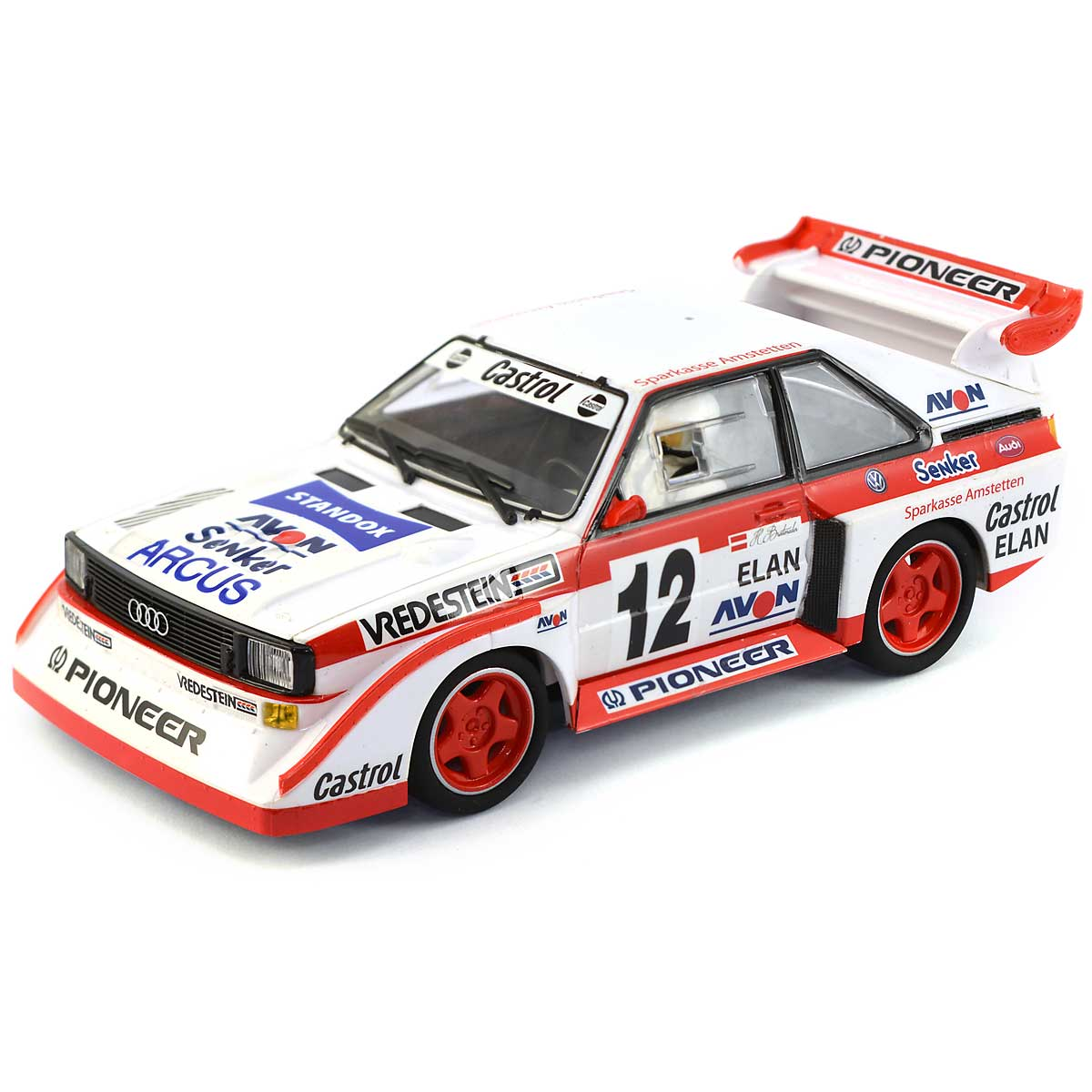 Scalextric Audi Sport Quattro E2 No.12 Swedish Rally Cross 1990 (C3750 ...