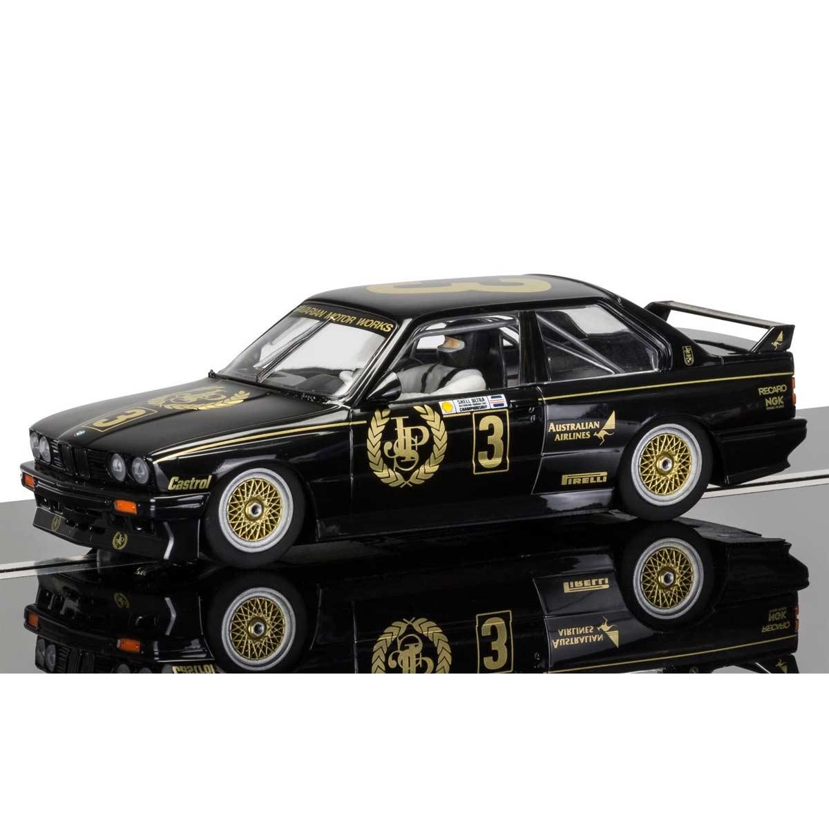 Bmw E30 M3: Scalextric BMW E30 M3 No.3 JPS (C3757