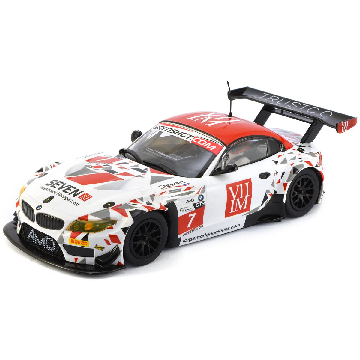 Bmw Z4 Used Cars: Scalextric BMW Z4 GT3 No.7 AMD Tuning (C3848
