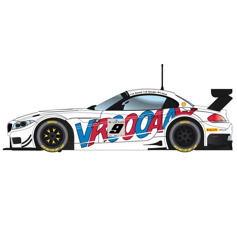 2015 Bmw Z4: Scalextric BMW Z4 GT3 ROAL Motorsport Spa 2015 (C3855