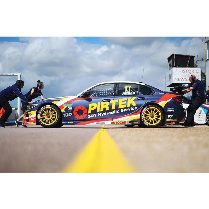 Scalextric BMW 330I M-Sport BTCC 2019 Andrew Jordan (C4194