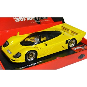 Le Mans Miniatures Porsche Dauer Road Version 1994 Yellow 132048M