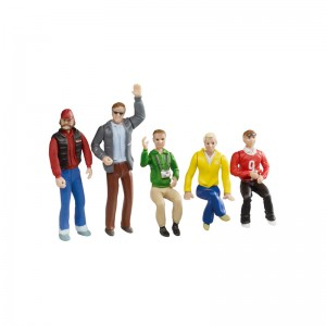 Carrera Set of Figures x5