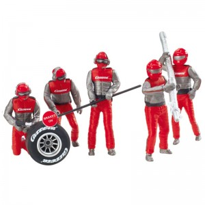 Carrera Mechanics Figures Red