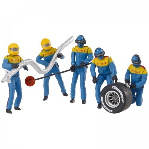Carrera Mechanics Figures Blue/Yellow