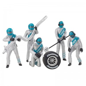 Carrera Mechanics Figures Silver/Green