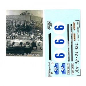 DMC Porsche 911S No.6 Scropolis Rally 1969 Decals 24-324b