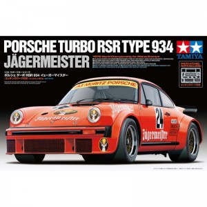 Tamiya Porsche Turbo RSR Type 934 Jagermeister Kit