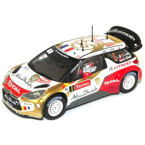 Carrera Citroen DS3 No.1 WRC Citroen Total Abu Dhabi