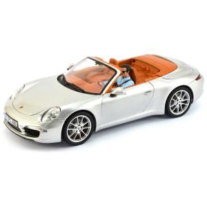 Carrera Porsche 911 Carrera S Cabriolet Silver