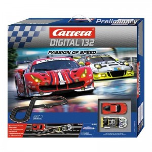 Carrera Digital 132 Passion of Speed Set