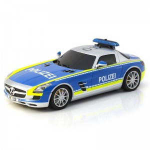 Carrera Digital 132 Mercedes-SLS AMG Polizei