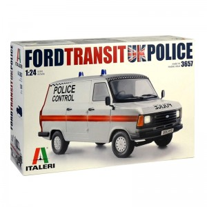 Italeri Ford Transit UK Police Kit 1/24