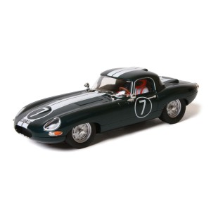 Ninco Jaguar E-Type Roadster No.7 British Green