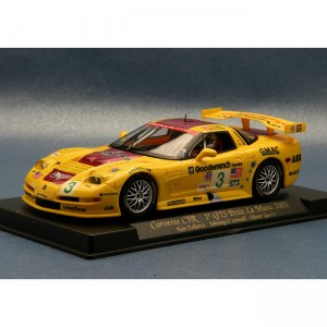 Fly Chevrolet Corvette C5R No.3 GTS Le Mans 2002 A129-88025