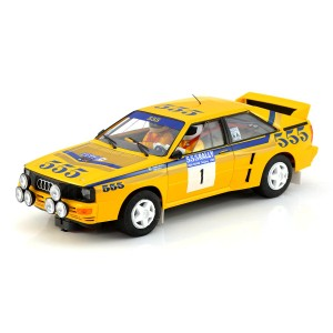 Fly Audi Quattro A2 No.1 Rally Hong Kong-Beijing 1985 Winner