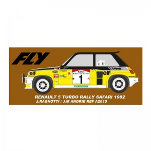 Fly Renault 5 Rally Costa De Marfil 1982