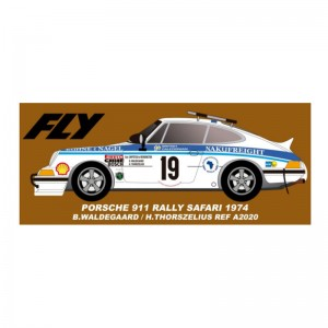 Fly Porsche 911 No.19 Safari Rally 1974