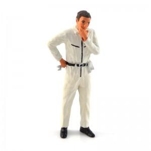 Figurenmanufaktur Mechanic White Figure