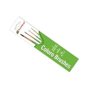 Humbrol Coloro Paint Brush Set