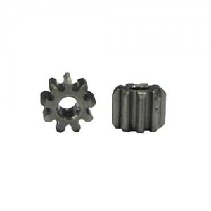 All Slot Car Pinion 9t Inline x2 AS003