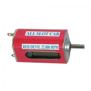 All Slot Cars Red Devil Motor 22000 rpm High Torque AS025