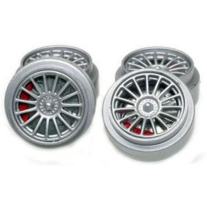 Avant Slot Complete plastic Wheels x4 AS20701
