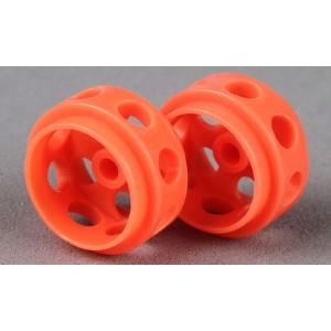 Avant Slot Delrin Wheels 15,5x9 Orange x2 AS20726