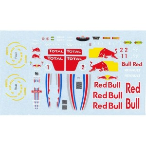 All Slot Car GP Decal Vettel & Webber ASGP012