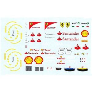All Slot Car GP Decal Alonso & Massa ASGP014