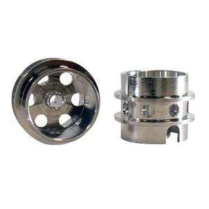 All Slot Car Rear Aluminum Wheels Evo ASGP055
