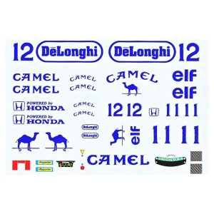 All Slot Car Decal Camel ASGP072