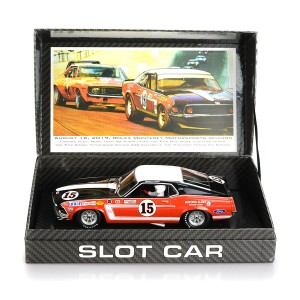 BRM 1/24 Ford Mustang Boss 302 1969 Bud Moore Team No.15