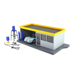 Scalextric Pit Stop Building Kit