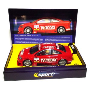 Scalextric Opel V8 Coupe TV Today No.8 Winkelhock - Sport Limited Edition C2475A