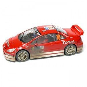 Scalextric Peugeot 307 Total Weathered C2561
