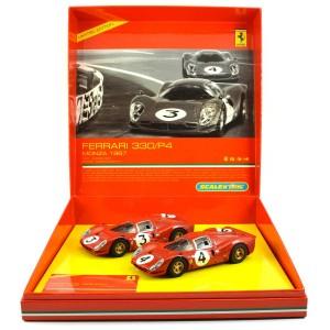 Scalextric Ferrari 330 P4 Monza 1967 Set