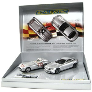 Scalextric Mercedes Benz SLR Mclaren 722 & 300 Limited Edition C2783A