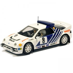 Scalextric Ford RS200 No.8 Sweden Rally 1986 C3156