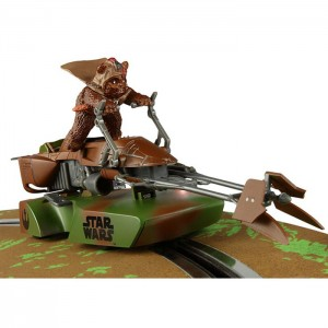 Scalextric Star Wars 74-Z Speeder Bike Ewok Paploo C3299