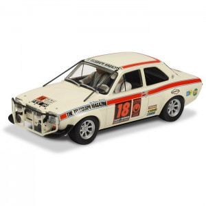 Scalextric Ford Escort MKI London to Mexico Rally 1970 C3313
