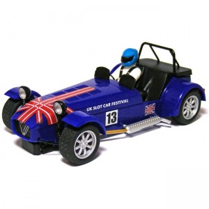 Scalextric Caterham 7 UK Slot Car Festival 2013 Limited Edition C3437
