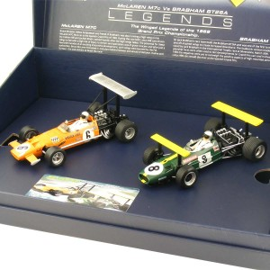 Scalextric Winged Legends Brabham BT26A & McLaren M7C
