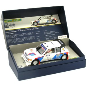 Scalextric Classic Collection Peugeot 205 T16